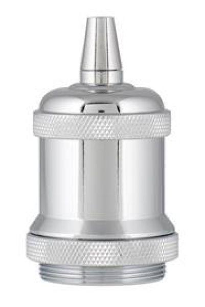 Bailey 139694 Retro Lampholder Aluminium E27 Chroom