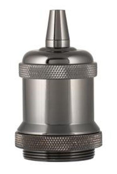 Bailey 139693 Retro Lampholder Aluminium E27 Zwart