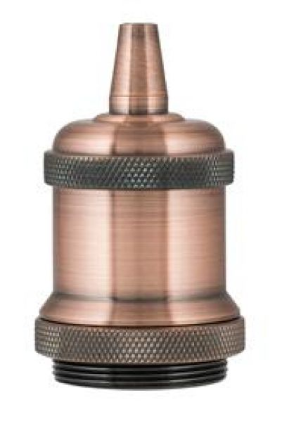 Bailey 139695 Retro Lampholder Aluminium E27 Koper