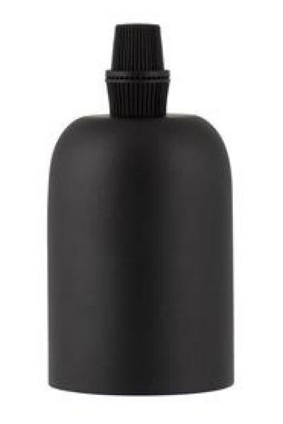 Bailey 139700 Lamphouder Metaal E27 Mat zwart