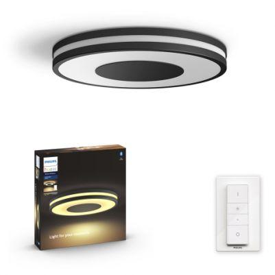 Philips 3261030P6 Hue Being Plafondlamp White Ambiance Zwart inclusief DIM Switch