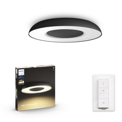 Philips 3261330P6 Hue Still Plafondlamp Zwart White Ambiance inclusief DIM Switch