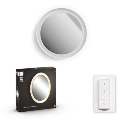 Philips 3418631P6 Hue Adore Spiegel verlichting White Ambiance inclusief DIM Switch
