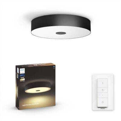 Philips 4034030P6 Hue Fair Plafondlamp Zwart White Ambiance inclusief DIM Switch