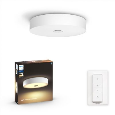 Philips 4034031P6 Hue Fair Plafondlamp White Ambiance Wit inclusief DIM Switch