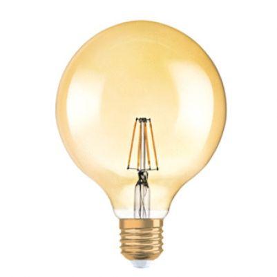 Osram 4058075809406 Vintage 1906 LED Globe G125 7-55W E27 Gold