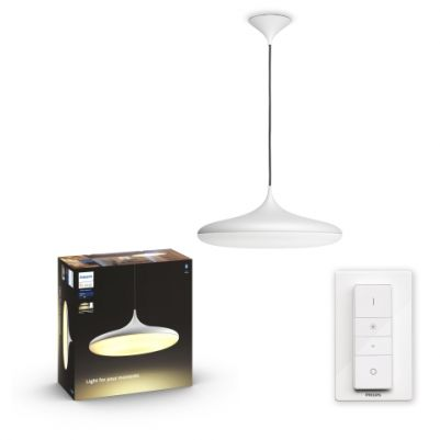 Philips 4076131P6 Hue Cher hanglamp Wit White Ambiance inclusief DIM Switch