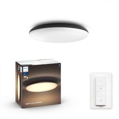 Philips 4096730P6 Hue Cher Plafondlamp Zwart White Ambiance inclusief DIM Switch