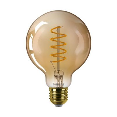 Philips 8718699676070 Vintage LED D G93 5,5-25W E27 Gold Flame