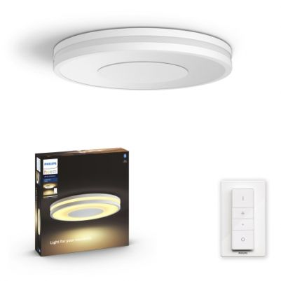 Philips 3261031P6 Hue Being Plafondlamp White Ambiance Wit inclusief DIM Switch