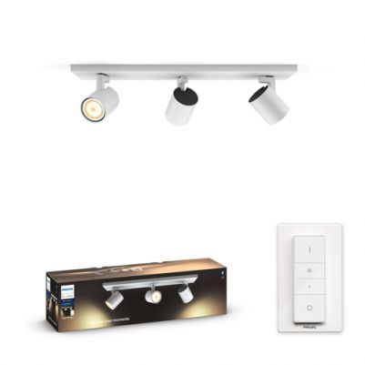 Philips 5309331P6 Hue Runner 3-spot White Ambiance Wit inclusief DIM Switch