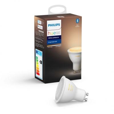 Philips 62867300 Hue White Ambiance 5,5W GU10 (single pack)