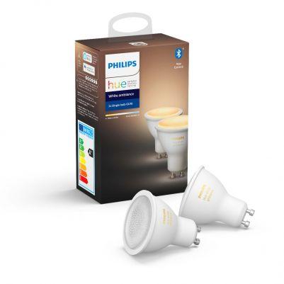 Philips 62929800 Hue White Ambiance 5,5W GU10 (duopack)