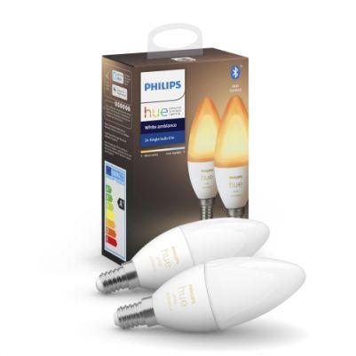 Philips 8718699726355 Hue White Ambiance E14 (DUOpack)
