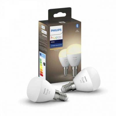 Philips 8719514266902 Hue White E14 Kogellamp (Duopack)