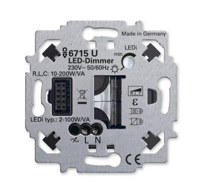 Busch-Jaeger 6715U LED-dimmersokkel ZigBee Light Link 2-100W (dimmer)