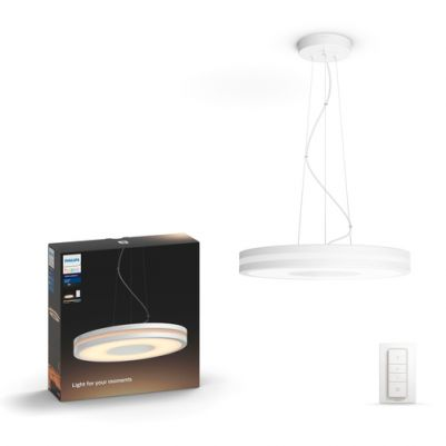 Philips 4098431P7 Hue Being Hanglamp White Ambiance Wit inclusief DIM Switch