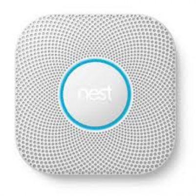 Nest S3000BWFD Nest protect 2e generatie op batterijen Detecteert rook en koolmonoxide