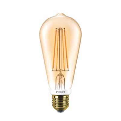 Philips 57571000 Classic LEDBulb ST64 7-55W E27 Gold Extra warm wit