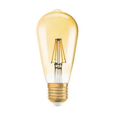 Osram 4052899972360 Vintage 1906 LED ST64 7,5-55W E27 Gold Flame