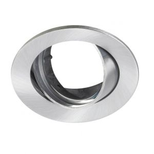 Lumiance 3083510 Inset trend 75 Swing Geborsteld aluminium (GU10)