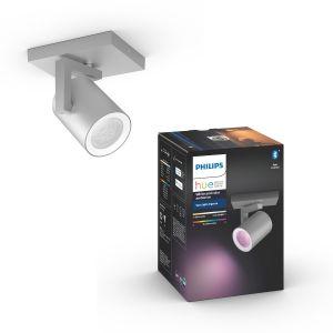 Philips 50621/48/P7 Hue Argenta 1-lichts spotbalk White and Color Ambiance Aluminium