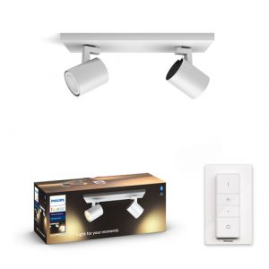 Philips 5309231P6 Hue Runner 2-spot White Ambiance Wit inclusief DIM Switch