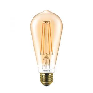 Philips 57573400 Classic LEDBulb ST64 7-50W E27 Gold Flame