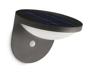 Philips 17808/93/16 MyGarden Solar Dusk Antraciet 1W Sensor Warm wit