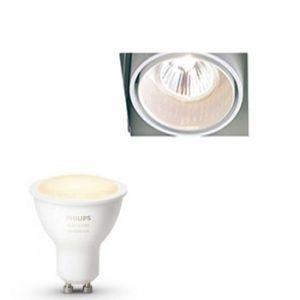 Trimless Inbouwspot Delta Light inclusief Hue White Ambiance (GU10) Wit